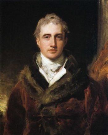 Robert Stewart Viscount Castlereagh Later 2nd Marquess of Londonderry 1769 1822 | Sir Thomas Lawrence | oil painting