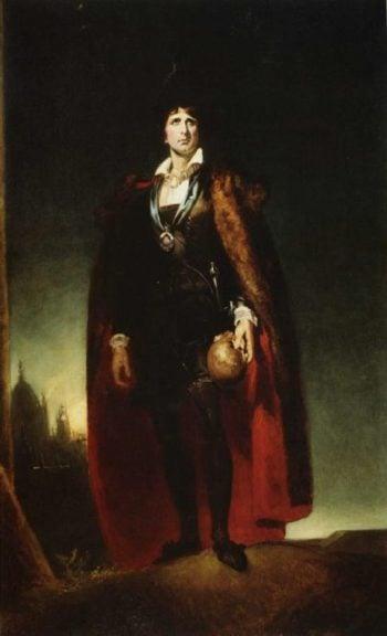 John Philip Kemble as Hamlet   Sir Thomas Lawrence   oil painting