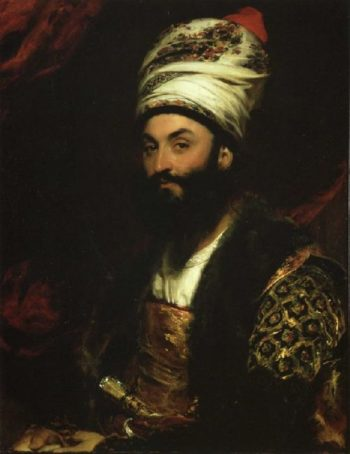 Mirza Abu'l Hassan Khan | Sir Thomas Lawrence | oil painting