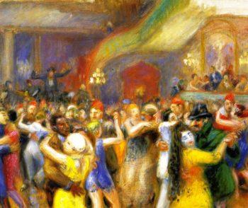 Bal Martinique | William James Glackens | oil painting