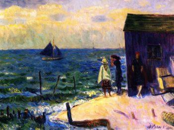 Bellport Long Island | William James Glackens | oil painting