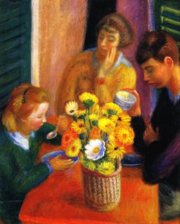 Breakfast Porch | William James Glackens | oil painting