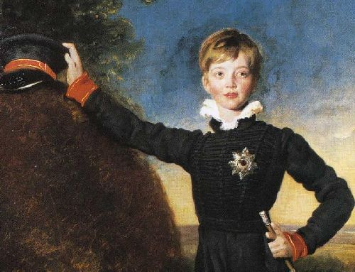 Prince George of Cumberland 1819 78 Detail | Sir Thomas Lawrence | oil painting