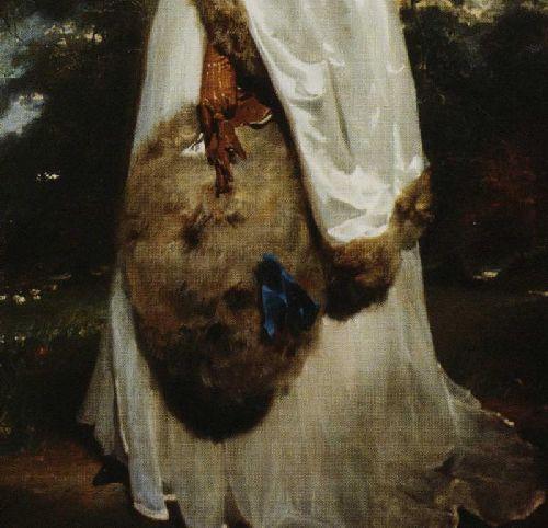 Elizabeth Farren 1759 1829 Detail | Sir Thomas Lawrence | oil painting