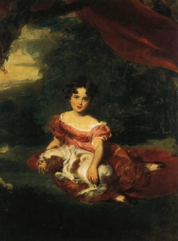 Julia Beatrice Daughter of Mr and Mrs Robert Peel | Sir Thomas Lawrence | oil painting