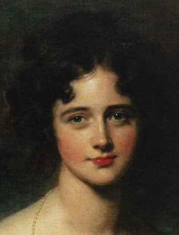 Rosamund Hester Elizabeth Croker 1810 1906 Detail | Sir Thomas Lawrence | oil painting