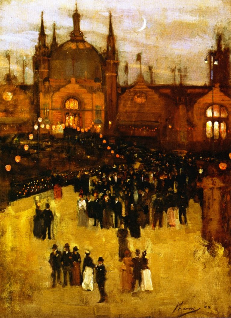 The Glasgow International Exhibition | Sir John Lavery | oil painting