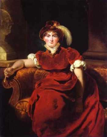 Caroline Amelia Elizabeth of Brunswick | Sir Thomas Lawrence | oil painting