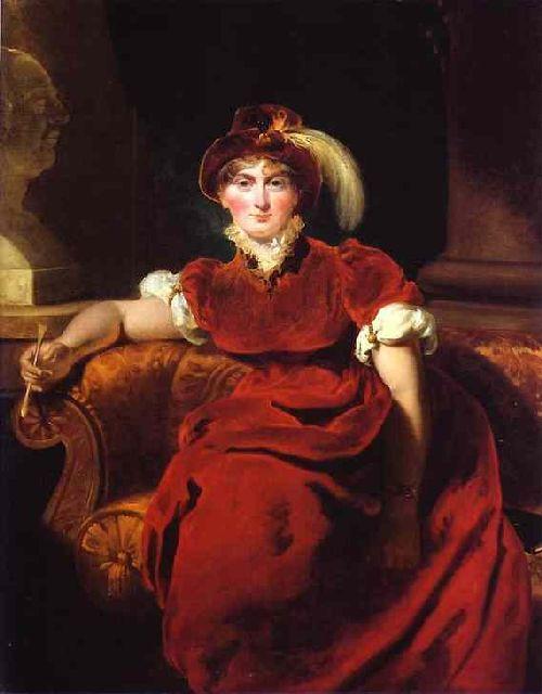 Caroline Amelia Elizabeth of Brunswick | Sir Thomas Lawrence | oil painting