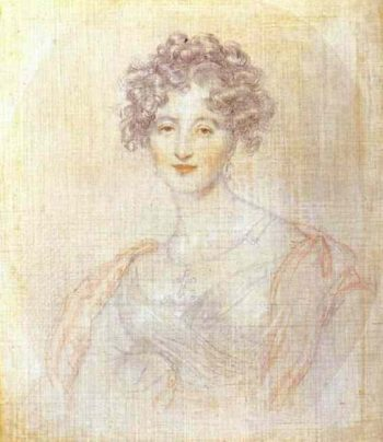 Study for the Portrait of Countess E K Vorontsova   Sir Thomas Lawrence   oil painting