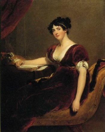 Portrait of Mrs Isaac Cuthbert | Sir Thomas Lawrence | oil painting