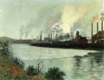 Bethlehem Steel | Aaron Harry Gorson | oil painting