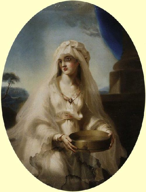 Vestal Virgin | Sir Thomas Lawrence | oil painting