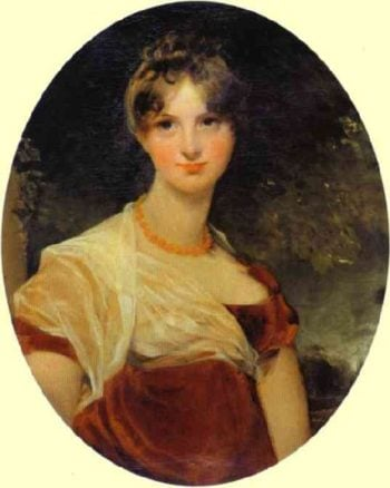 Portrait of Lady Hicks | Sir Thomas Lawrence | oil painting