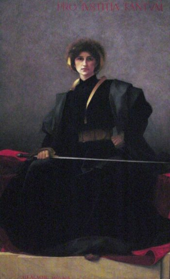 The Sword | Alfred Pierre Agache | oil painting