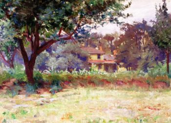House in a Landscape | Alice Kellogg Tyler | oil painting
