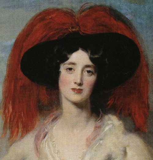 Mrs Robert later Lady Peel Detail | Sir Thomas Lawrence | oil painting