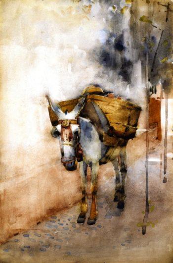The Arab Donkey | Arthur Melville | oil painting