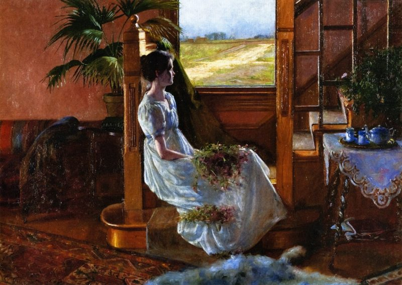 Expectations | Belle Emerson Keith | oil painting