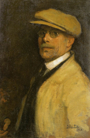 Autorretrato(Self-portrait) | Cecilio Pla y Gallardo | oil painting