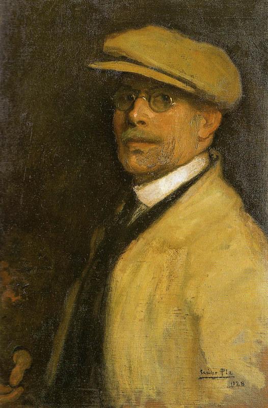 Autorretrato(Self-portrait) | Cecilio Pla y Gallardo | oil painting