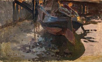Barco | Cecilio Pla y Gallardo | oil painting