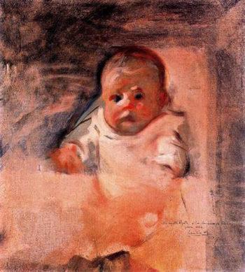 Bebe | Cecilio Pla y Gallardo | oil painting