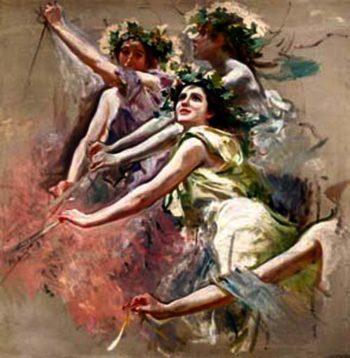 Boceto | Cecilio Pla y Gallardo | oil painting