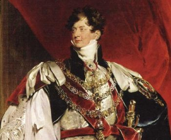 George IV Detail | Sir Thomas Lawrence | oil painting