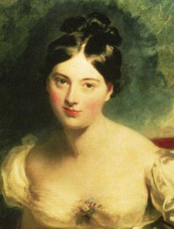 Margaret Countess of Blessington 1789 1849 Detail | Sir Thomas Lawrence | oil painting