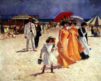 Escena en la Playa 5 | Cecilio Pla y Gallardo | oil painting