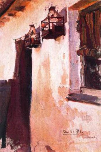 Farolillos | Cecilio Pla y Gallardo | oil painting