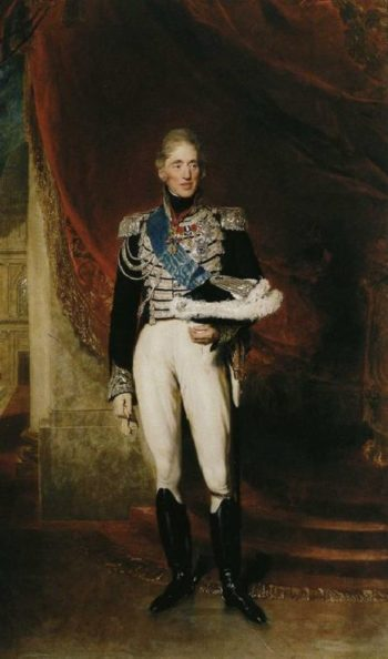 King Charles X of France | Sir Thomas Lawrence | oil painting