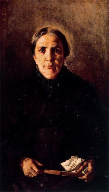 Madre del Pintor | Cecilio Pla y Gallardo | oil painting