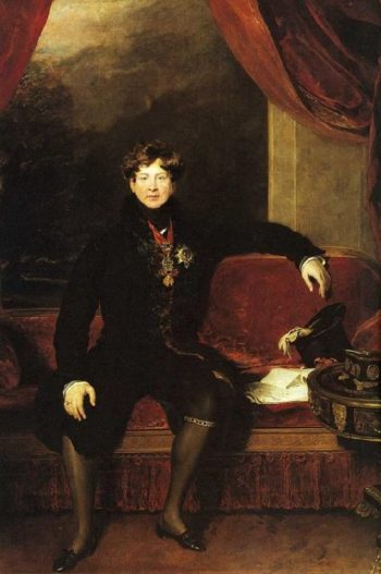 King George IV | Sir Thomas Lawrence | oil painting