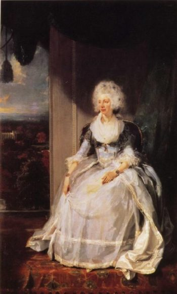 Queen Charlotte | Sir Thomas Lawrence | oil painting