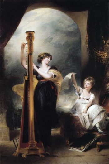 Caroline Princess of Wales and Princess Charlotte | Sir Thomas Lawrence | oil painting