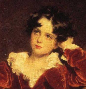 Charles William Lambton Master Lambton 1818 31 Detail | Sir Thomas Lawrence | oil painting