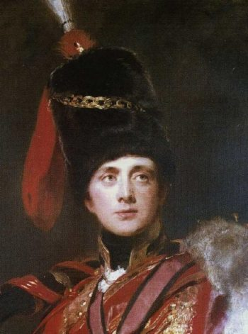 Lieutenant General The Hon Sir Charles Stewart later 3rd Marquess of Londonderry Detail | Sir Thomas Lawrence | oil painting