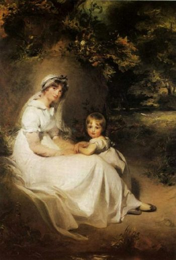Lady Templetown and Her Son | Sir Thomas Lawrence | oil painting