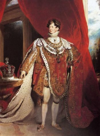 George IV | Sir Thomas Lawrence | oil painting