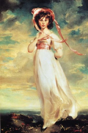 Sarah Barrett Moulton Pinkie 1783 95 | Sir Thomas Lawrence | oil painting