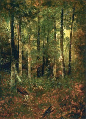 Forest Scene | Charles Ethan Porter | oil painting