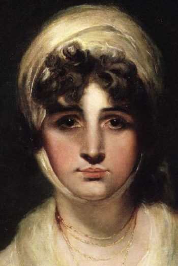 Sarah Siddons Detail | Sir Thomas Lawrence | oil painting
