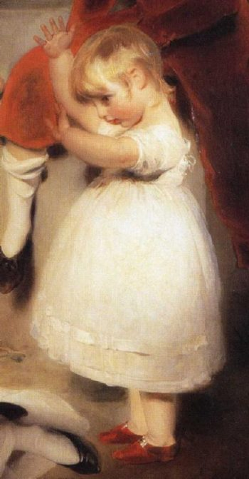 The Children of Ayscoghe Boucherett Detail 3 | Sir Thomas Lawrence | oil painting
