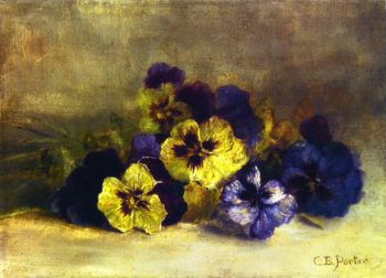 Pansies | Charles Ethan Porter | oil painting