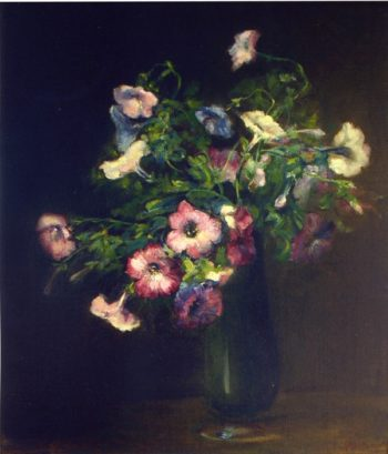 Petunias | Charles Ethan Porter | oil painting