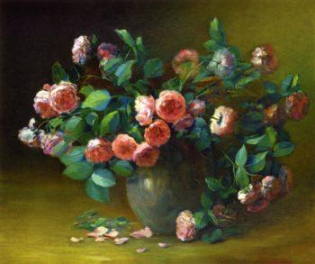 Rambling Roses | Charles Ethan Porter | oil painting