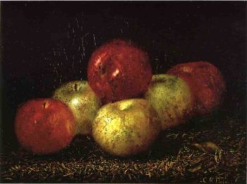 Still Life with Apples | Charles Ethan Porter | oil painting