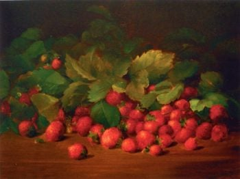 Strawberries | Charles Ethan Porter | oil painting